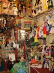 Marionettes in a shop by Curri-chan