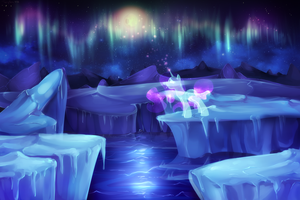 The magic of northern lights by Twigileia