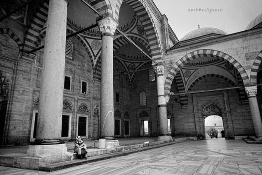 Selimiye Mosque by pigarot