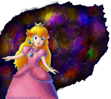 Dreamy Peach : Night of the Shooting Stars by MonoKhromatik