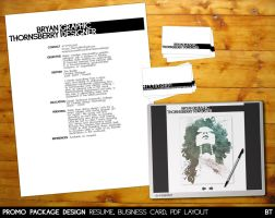 Promo Package Design by bryanthornsberry