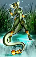 COBRA ON THE WATER by WhiteFox89