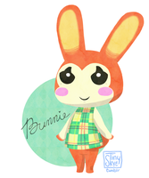 ACNL Bunnie by TinySkye