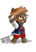 Button as Sora - EQD Artist Training Ground Day 3 by SpecialButterfly395