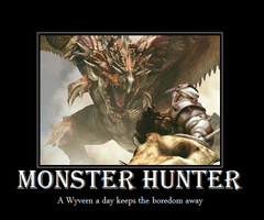 Monster Hunter Motivational by Squidni