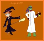 April And Donnie Halloween entry by MiraculousLover21