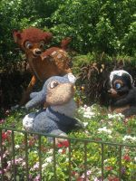 Bambi, Thumper and Flower by Simpsonsfanatic33