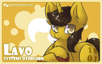 Commission - Lavos Card by Sapphfyr