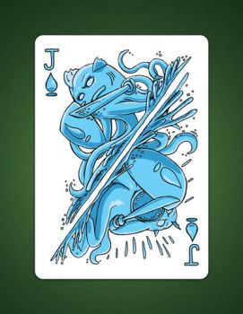 Jack of Spades aka Jack Of Water by LineDetail