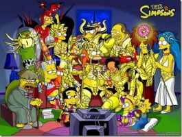 The simpsons egypt by sasuke-kun-09
