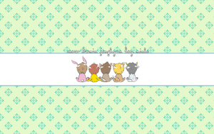 SHINee animal wallpaper by sparklingwater