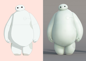 Baymax Base by Raygirlbases