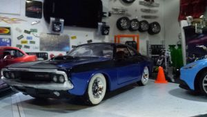 repost update 1970 dodge challenger R-T coupe by themodelist