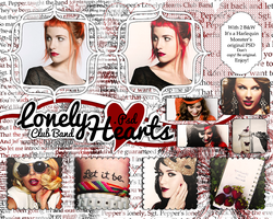 Lonely Hearts Club Band PSD by HarlequinMonster