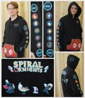 Spiral Knights Hoodie Commission by IAmNotAPorkChop