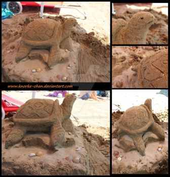 Sand Turtle by Knorke-chan