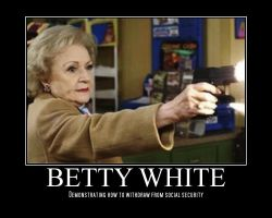 Betty White by foxboy29