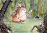 Battle Hamster Goes South by ursulav
