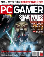 Star Wars Old Republic PCGamer Cover by darkeblue