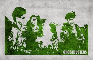 Iconic Cinema: Ghostbusters (version 2) by Pyrochimp