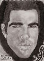 Sylar heroes sketch by roydraven777