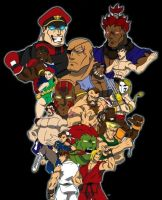 Super Street Fighter II Turbo by levonn78