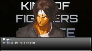KOF Infinite Win Quote Screen by anubis55