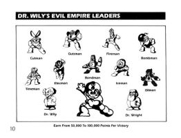 DR. WILY'S EVIL EMPIRE LEADERS by SomethingSyndicated