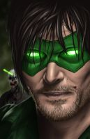 Green Lantern Daryl by halwilliams