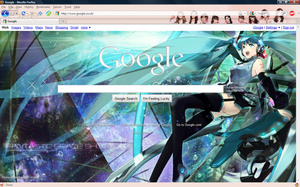 Firefox and Google Custom by Koinou-Mitei