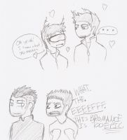 AN EPIC BROMANCE? by Skybot4