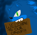 Welcome to the group by Amanda-the-Human