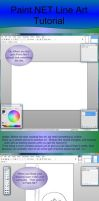 PaintNet Line Art Tutorial by RisingEchelon