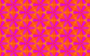 Colorful Flower Of Life pattern. by mariquack