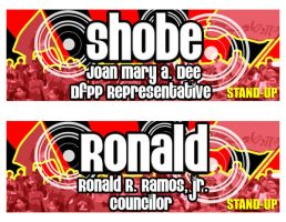STAND-UP nameplate by stinglacson
