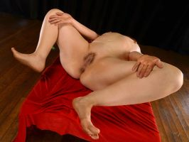 2212-LCW Beautiful Larger Woman Open and Waiting by artonline