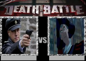 Hans Landa Vs Frollo by Normanjokerwise