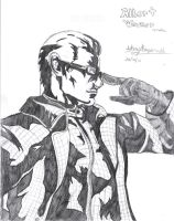 Wesker MVC 3 Concept Drawing by Hotfeet444