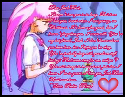 Sailor Moon: Rini's Letter to Jack Frost by MakorraLove12