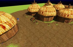Knothole huts by RyanEchidnaSEAL