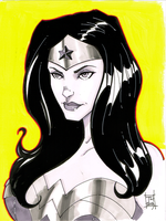 Wonder Woman 9x12 by Hodges-Art