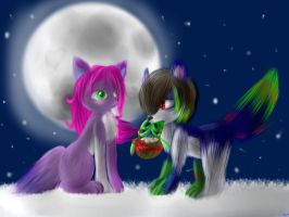 CG: A wonderfull lovely Christmas (SPEEDPAINT!) by lifegiving