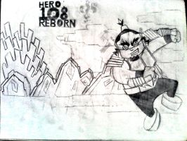 hero  108 reborn mighty ray by marixie