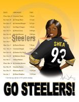 2009 Steeler Schedule by SlimmmGoodie