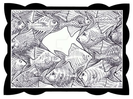 Fill In A Fish by sethness