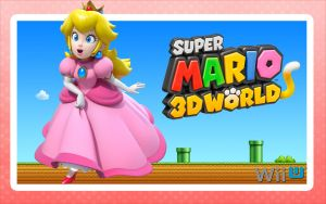 Peach - Super Mario 3D World by Link-LeoB