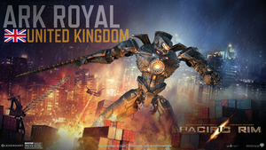 Pacific Rim - Ark Royal [UK] by WormWoodTheStar