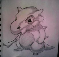 Cubone by XSlappyTheDummyX