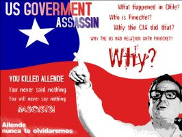 US Goverment killed Allende by Activists