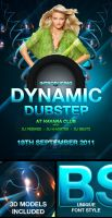 FREE Dynamic Dubstep Poster Ad by peewee1002